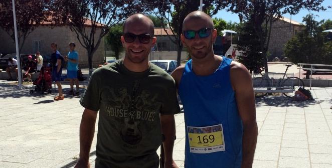 Alex y Manu WITL Trail Lozoyuela Madrid